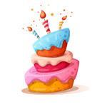 卡通生日蛋糕