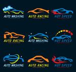 抽象车辆标志