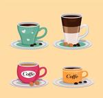 美味杯装咖啡