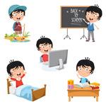儿童生活插画