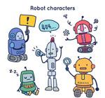 机器人设计矢量
