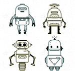 手绘机器人