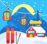 滑雪场风景