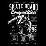 滑板比赛海报