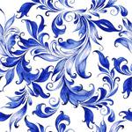 水彩绘花纹背景