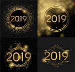 2019圣诞新年数字