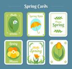 圆角春季卡片