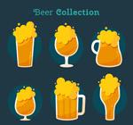 杯装冒泡啤酒