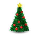 绿色圣诞树