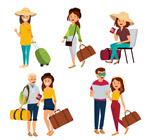 创意旅游人物