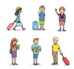 创意旅行人