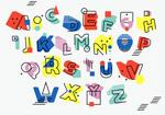 孟菲斯风格字母