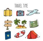 旅行时间元素