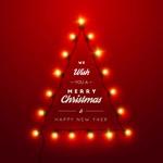 灯串组合圣诞树