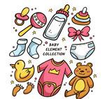 卡通婴儿用品