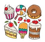 卡通甜点设计