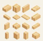 16款立体纸板箱