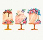 花卉装饰蛋糕