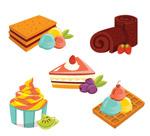 5款卡通甜品