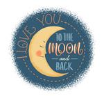 月亮爱的隽语