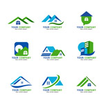 抽象房屋标志
