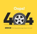 轮胎404错误页