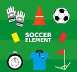 创意足球元素