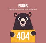 黑熊404错误页
