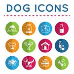 宠物狗用品图标