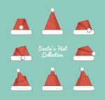 红色圣诞帽设计
