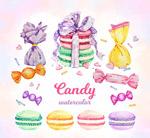 11款水彩绘甜食