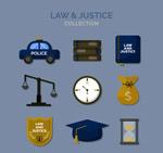 法律元素图标
