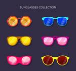 6款彩色太阳镜