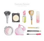 10款彩绘化妆品
