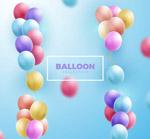 2款彩色气球束