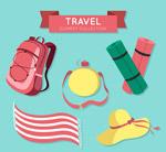 创意旅行元素