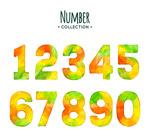 水彩绘混色数字