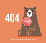 棕熊404错误页