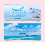 旅行风景banner