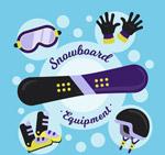 时尚滑雪装备