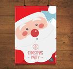 圣诞老人派对海报