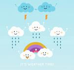 7个可爱云朵