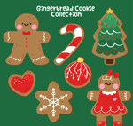 圣诞元素饼干