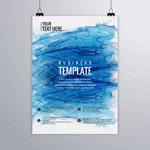 彩绘商务宣传海报