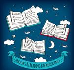 夜空中的书籍