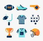 美式橄榄球图标