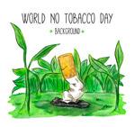 彩绘世界无烟日