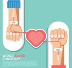 世界献血者日手臂
