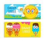 夏季元素banner