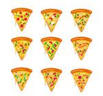 三角披萨图标